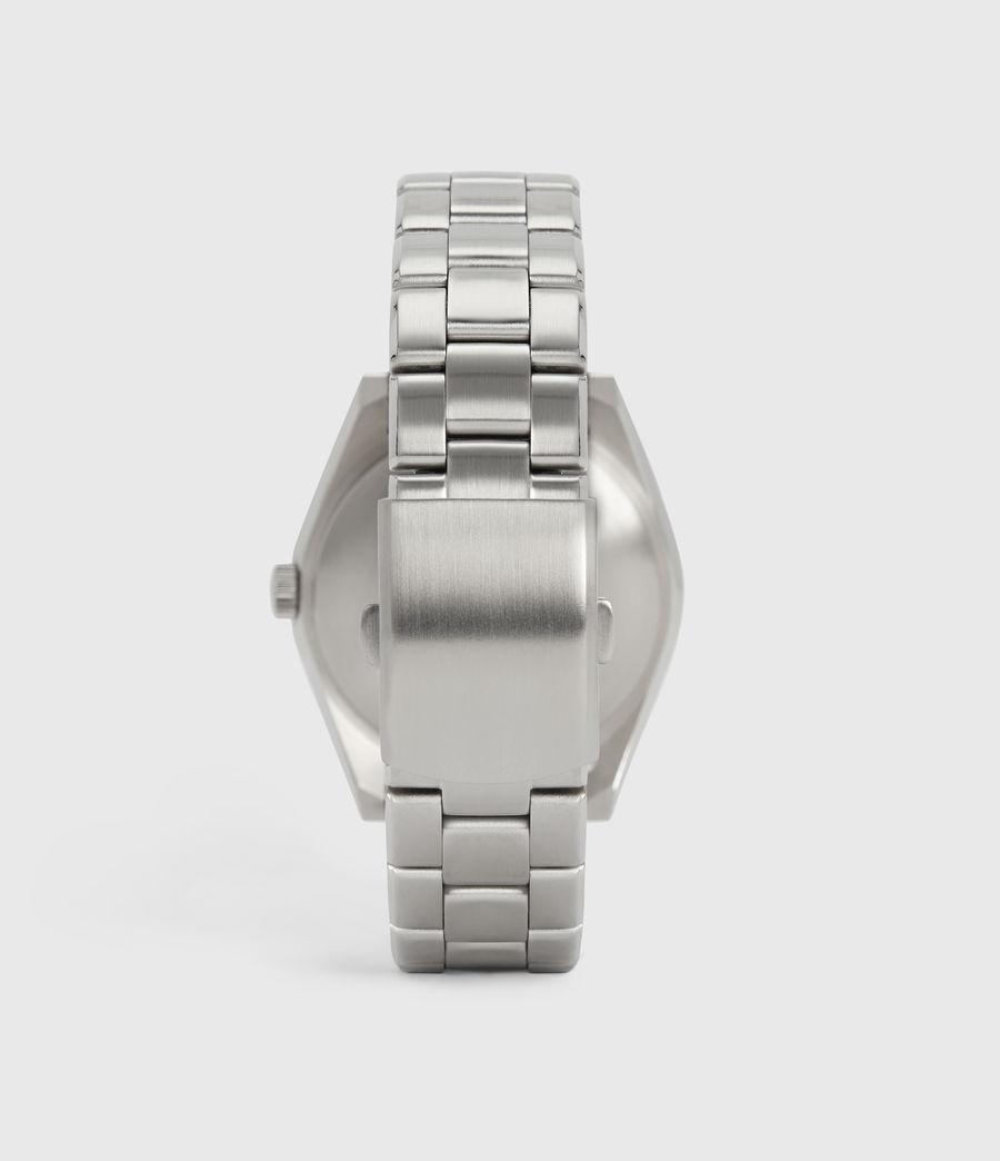 Mens Untitled VI Stainless Steel Watch (silver) - Image 3