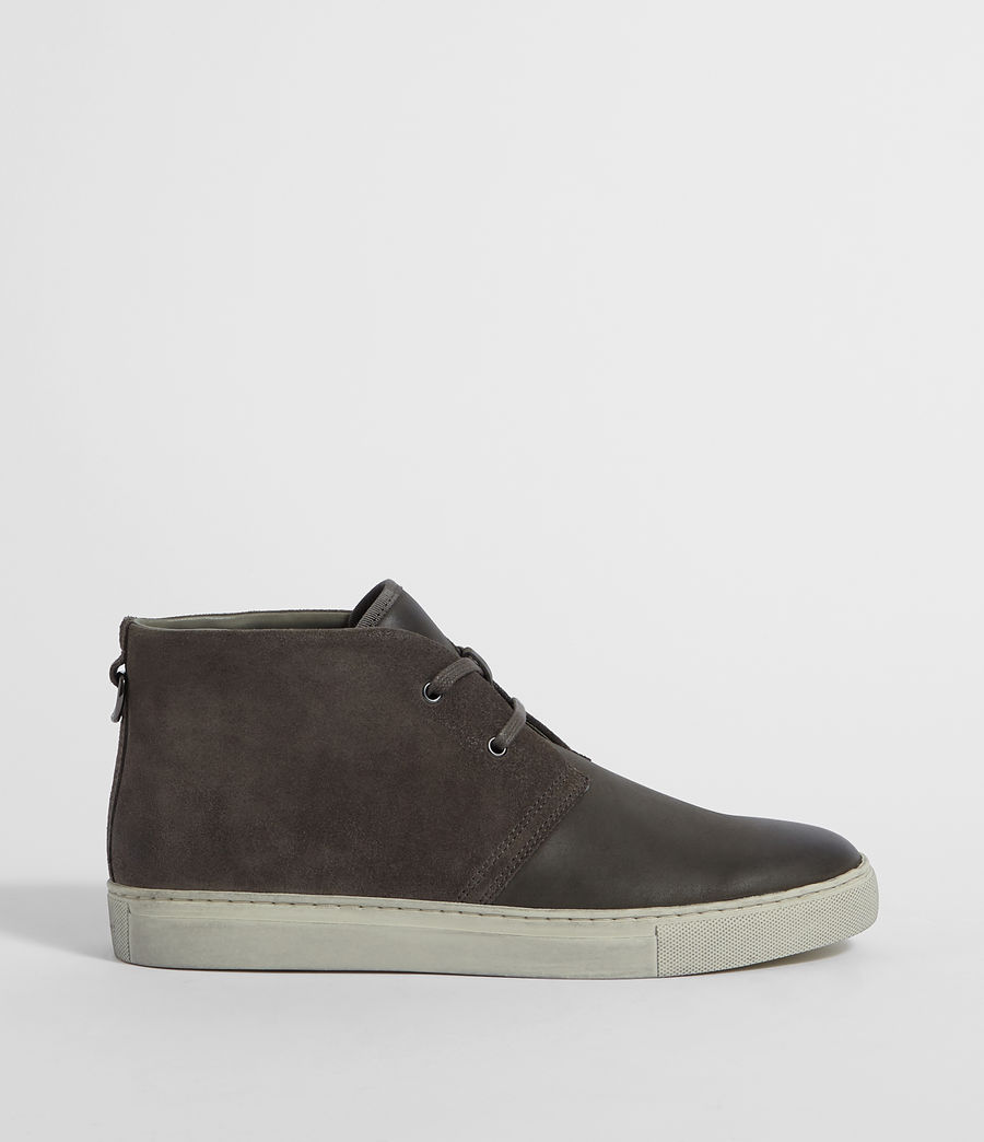 Mens Reed Desert Boot (charcoal_grey) - Image 1