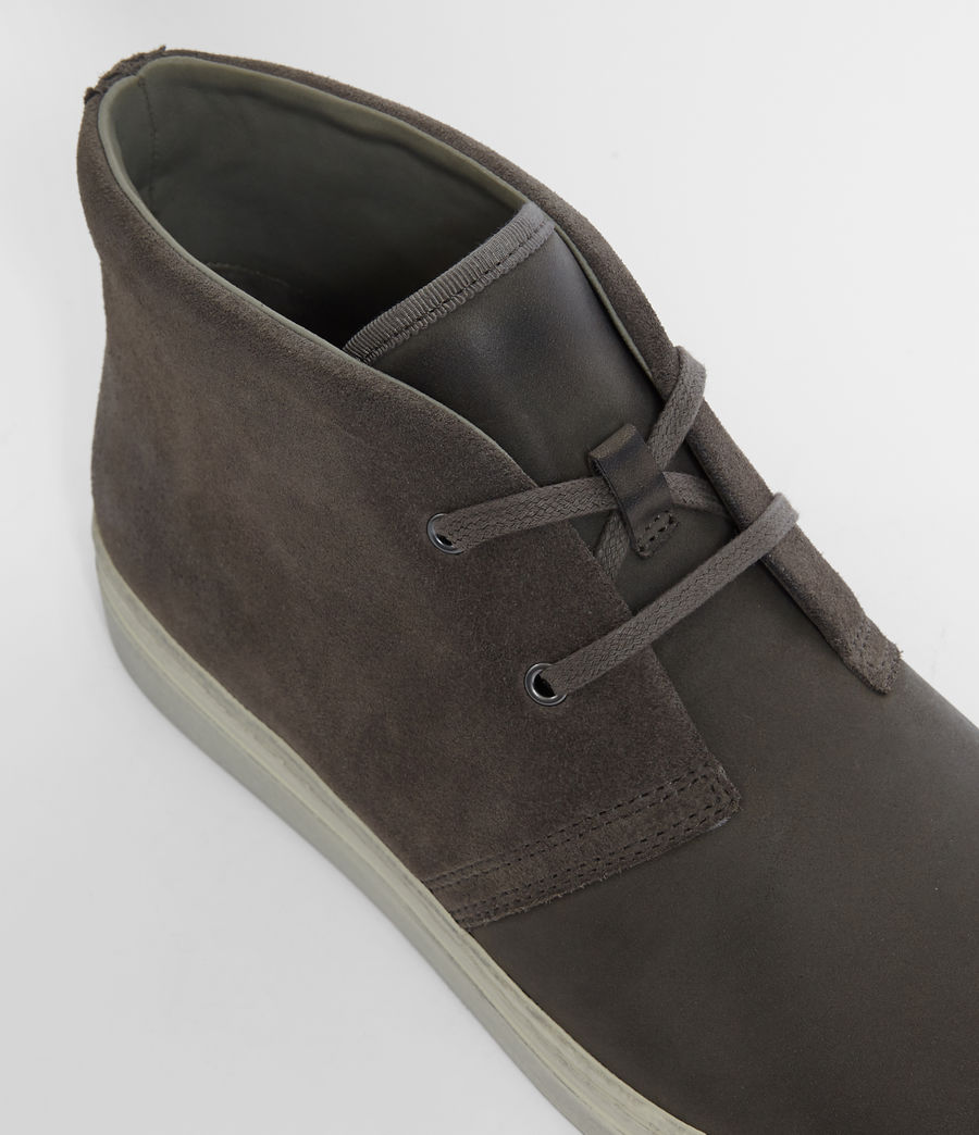 Hombres Botas Reed Desert (charcoal_grey) - Image 4