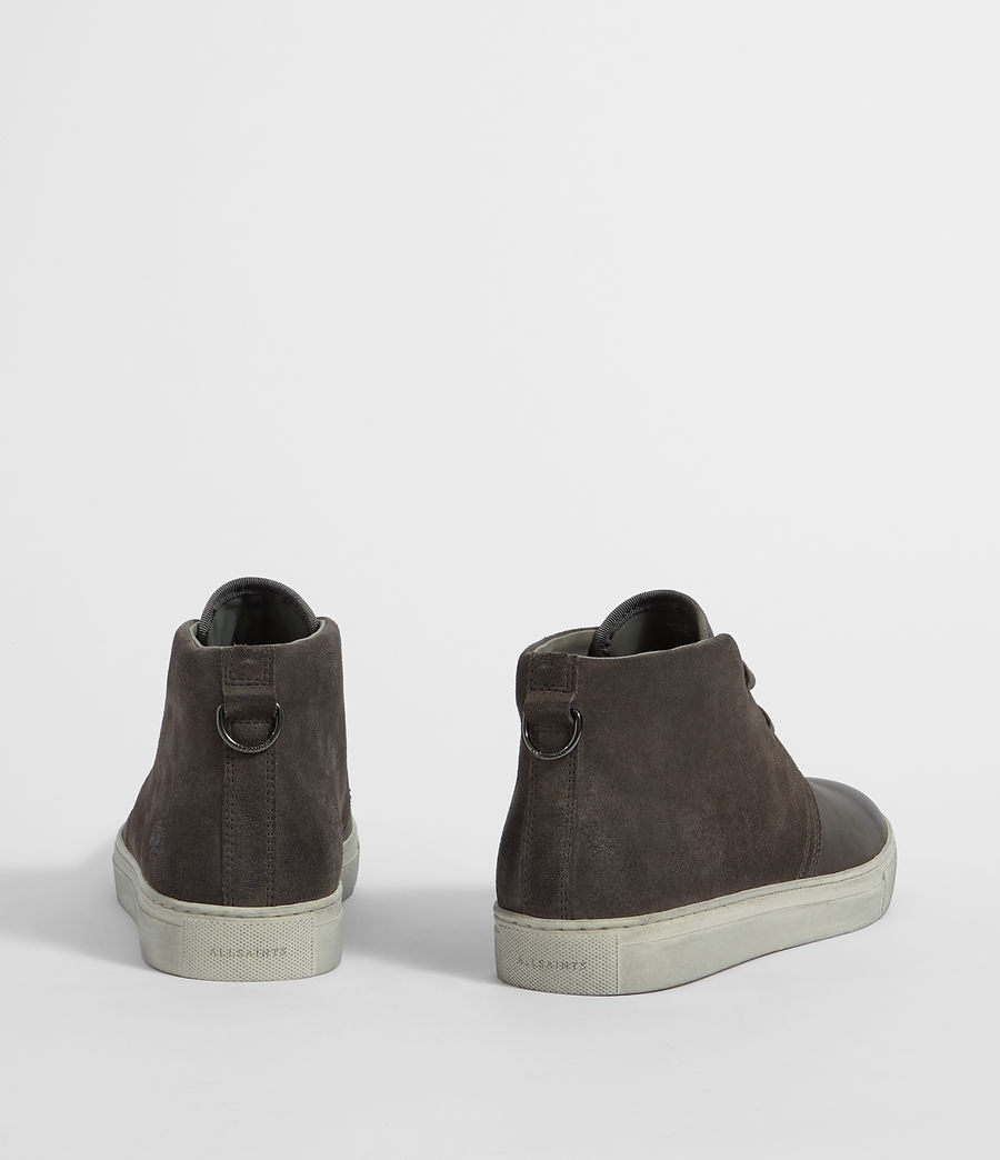 Hombres Botas Reed Desert (charcoal_grey) - Image 6