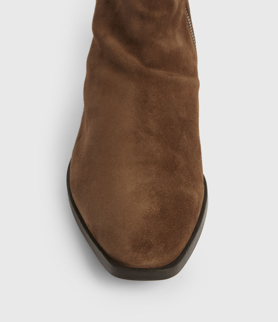 Mens Harris Suede Boots (tobacco_brown) - Image 2