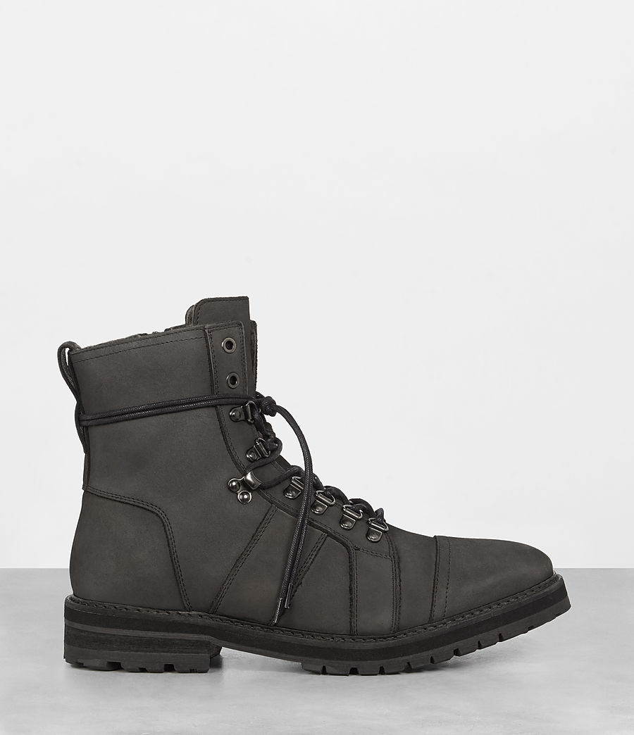 Men's Redpoint Shearling Lined Boot (charcoal_grey) - Image 3