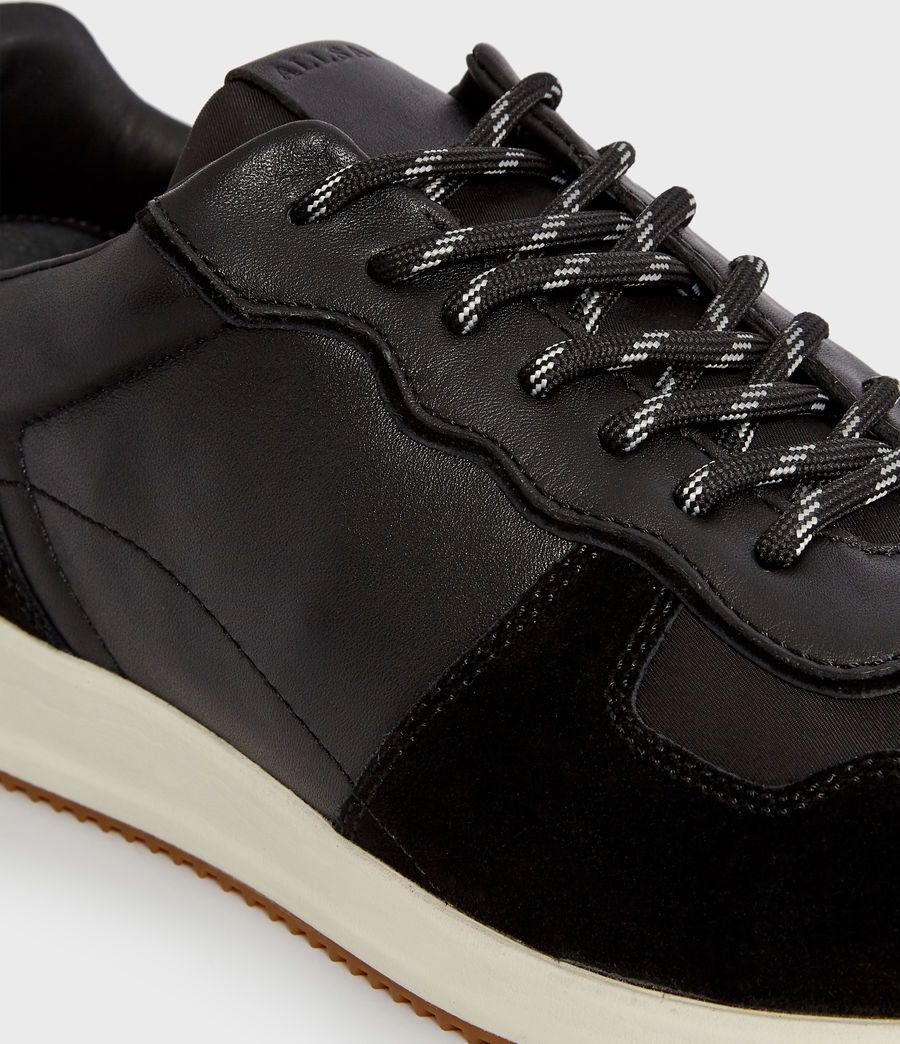 Hommes Baskets Milford (black) - Image 3