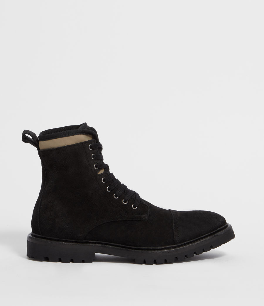 Men's Wayland Boot (black_khaki) - Image 1