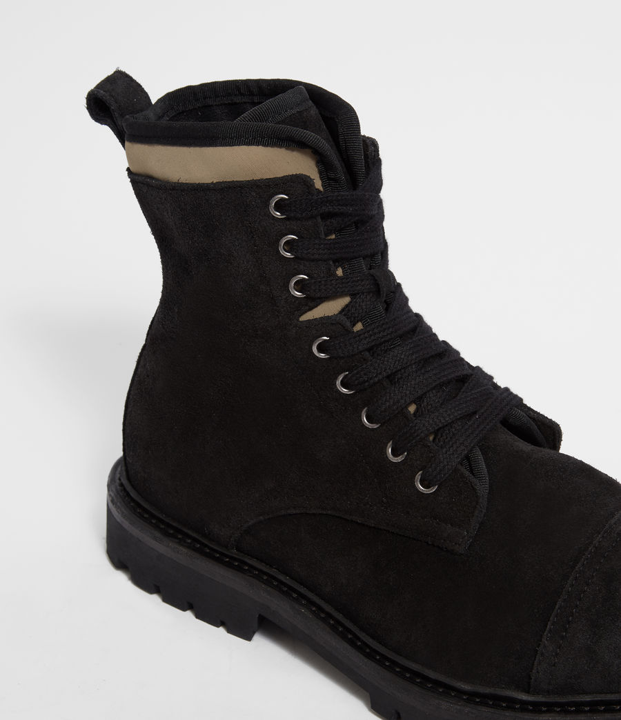 Men's Wayland Boot (black_khaki) - Image 2