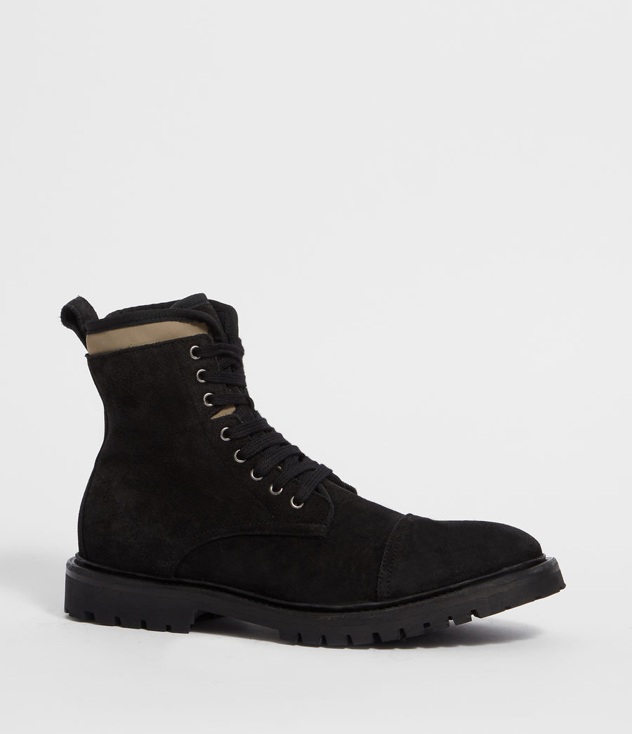 Men's Wayland Boot (black_khaki) - Image 3