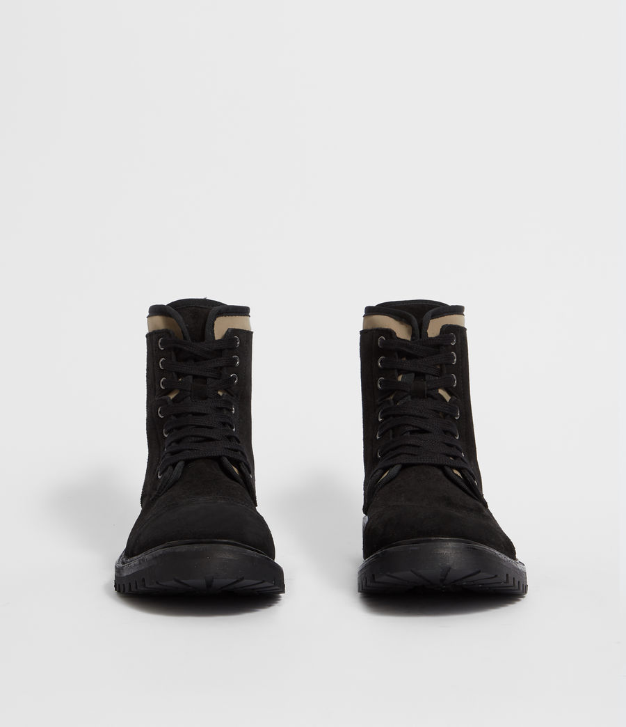 Men's Wayland Boot (black_khaki) - Image 4