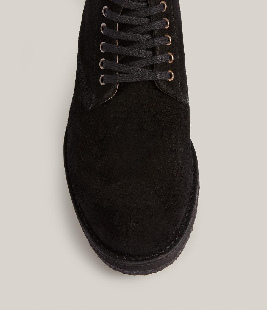 Men's Mathias Suede Boots (black) - Image 3