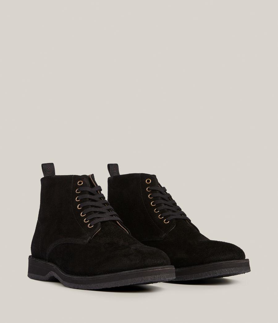 Men's Mathias Suede Boots (black) - Image 5