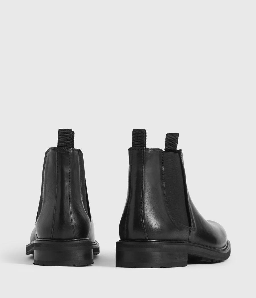 Hombres Botas de Piel Brendon (black) - Image 5