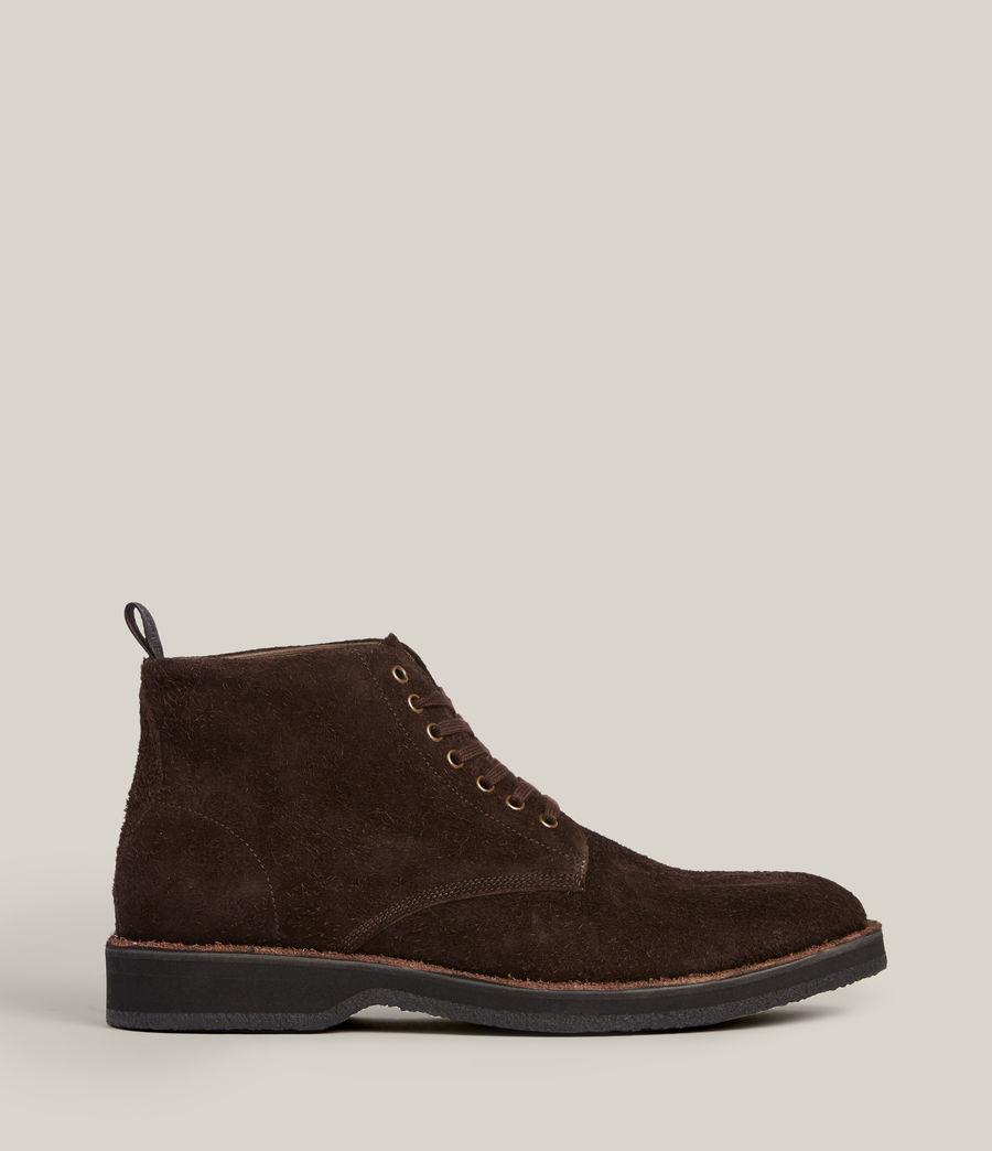 Men's Mathias Suede Boots (bitter_chocolate) - Image 1