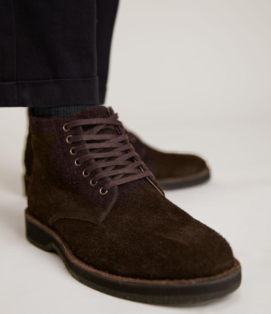Men's Mathias Suede Boots (bitter_chocolate) - Image 2