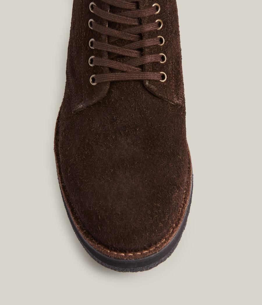 Men's Mathias Suede Boots (bitter_chocolate) - Image 3