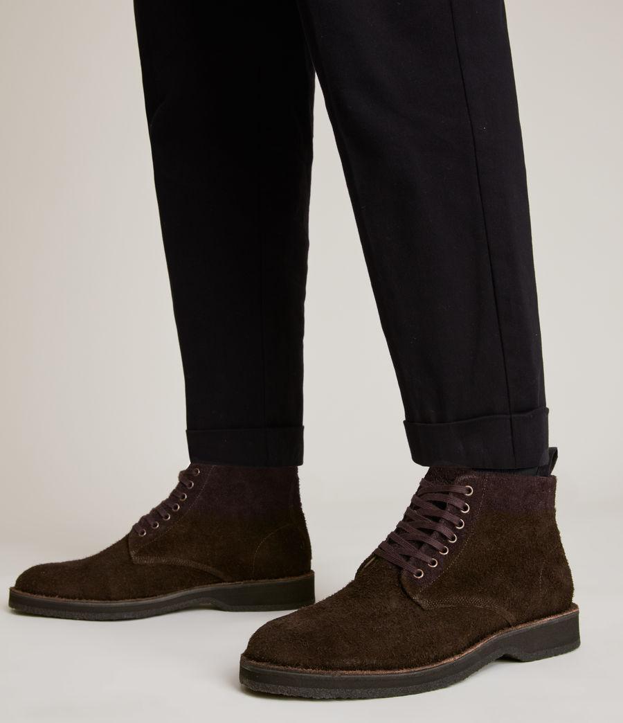 Men's Mathias Suede Boots (bitter_chocolate) - Image 4