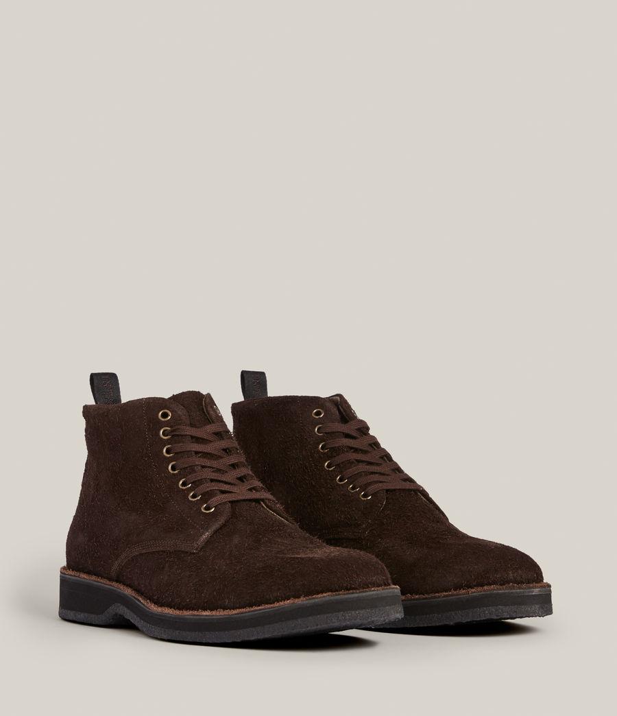 Men's Mathias Suede Boots (bitter_chocolate) - Image 5