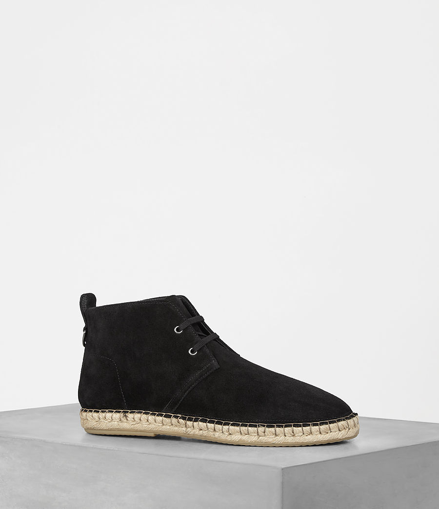Men's Kern Espadrille Boot (black) - Image 1