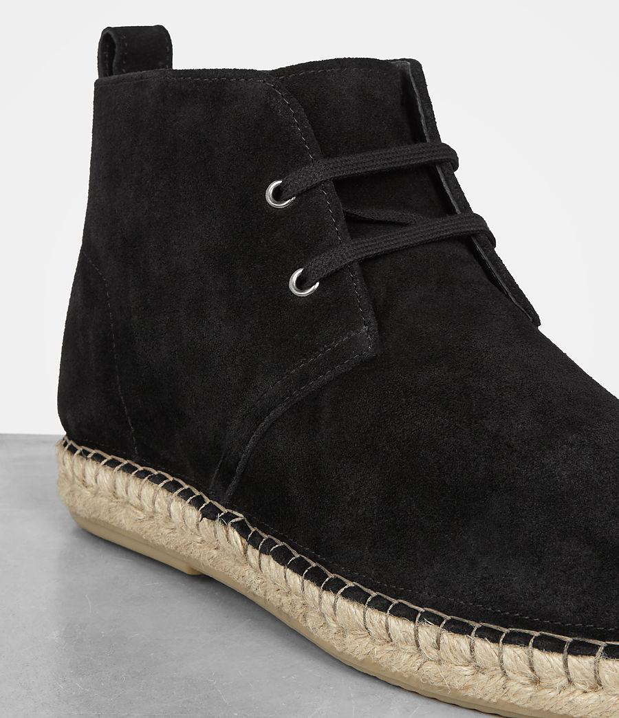 Mens Kern Espadrille Boot (black) - Image 2