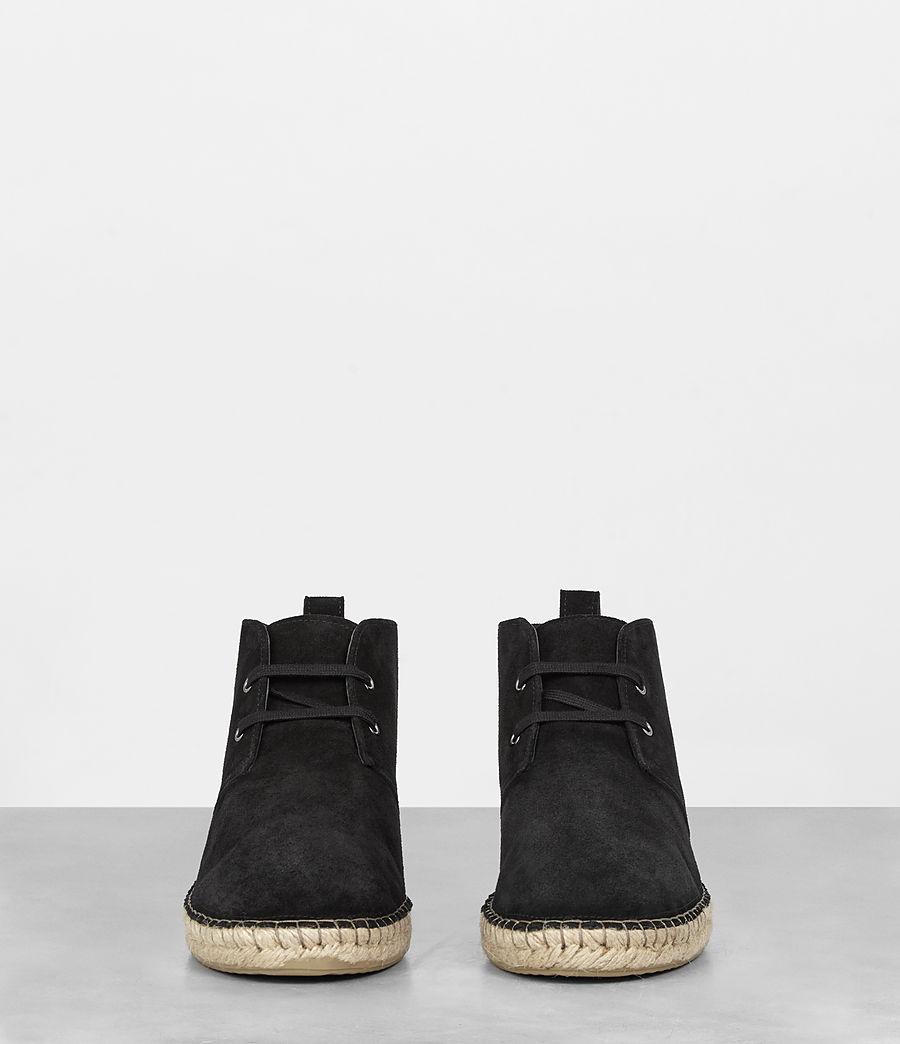 Mens Kern Espadrille Boot (black) - Image 3