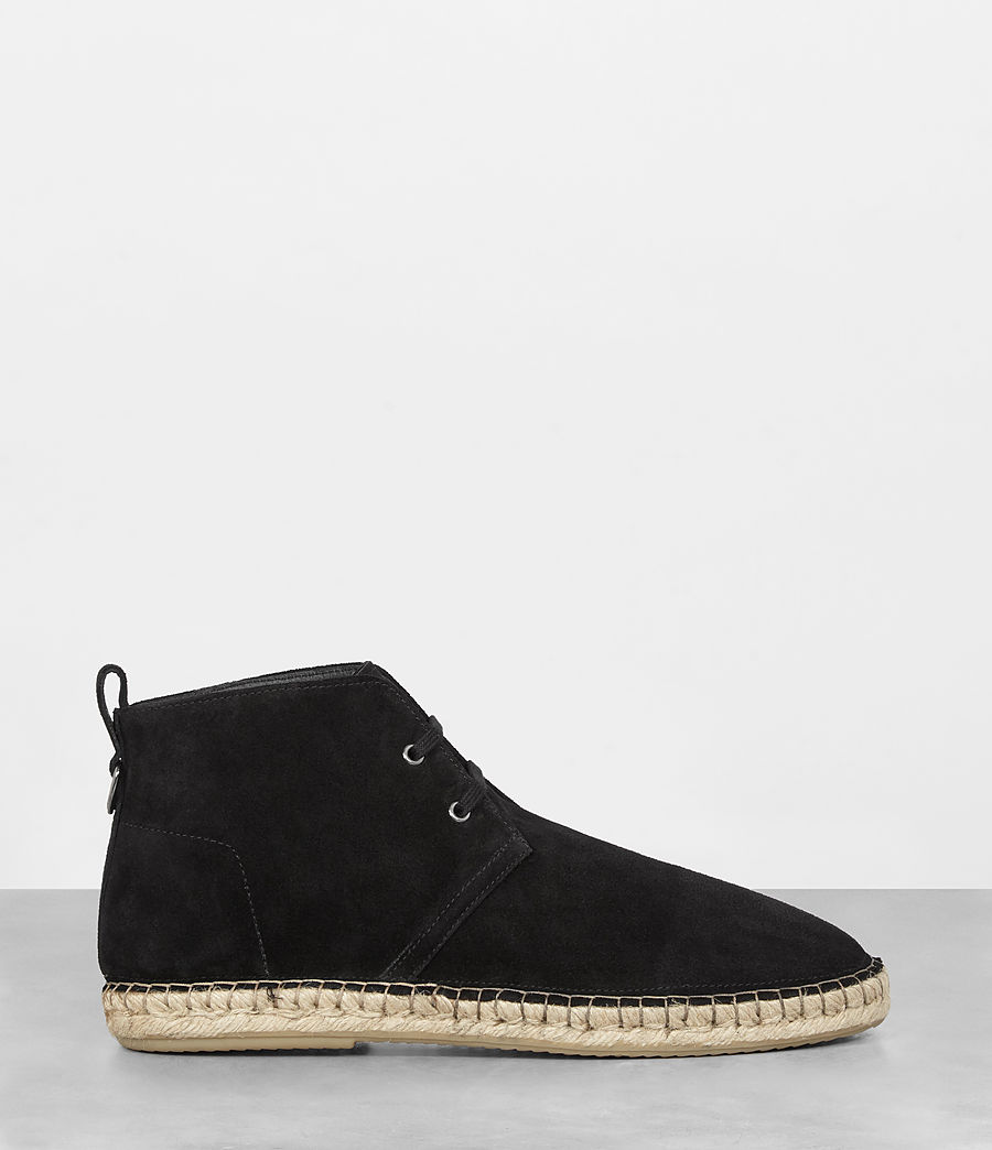 Mens Kern Espadrille Boot (black) - Image 4