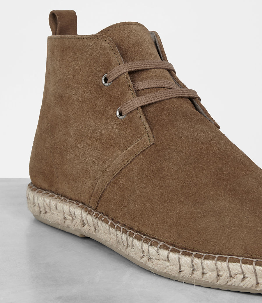 Hombres Kern Espadrille Boot (taupe) - Image 2