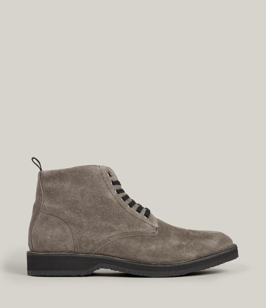 Men's Mathias Suede Boots (grey) - Image 1