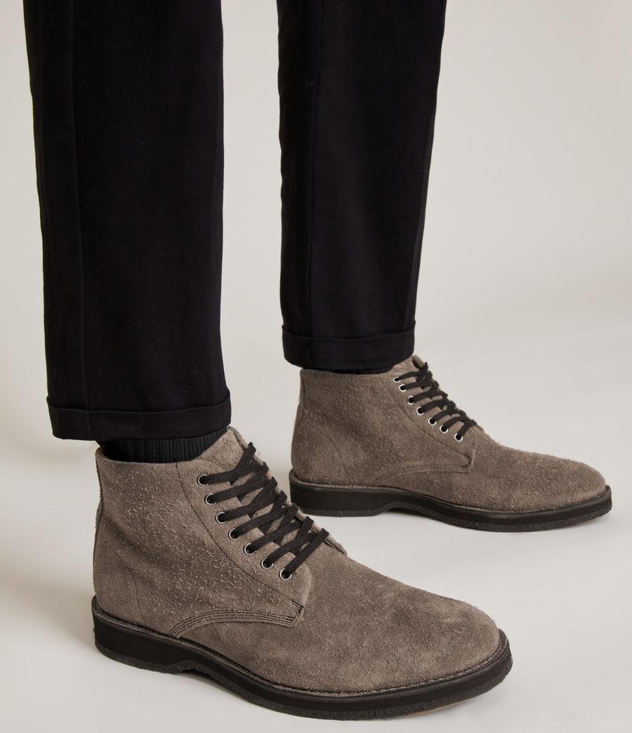 Men's Mathias Suede Boots (grey) - Image 2