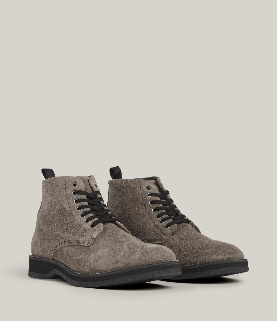 Men's Mathias Suede Boots (grey) - Image 5