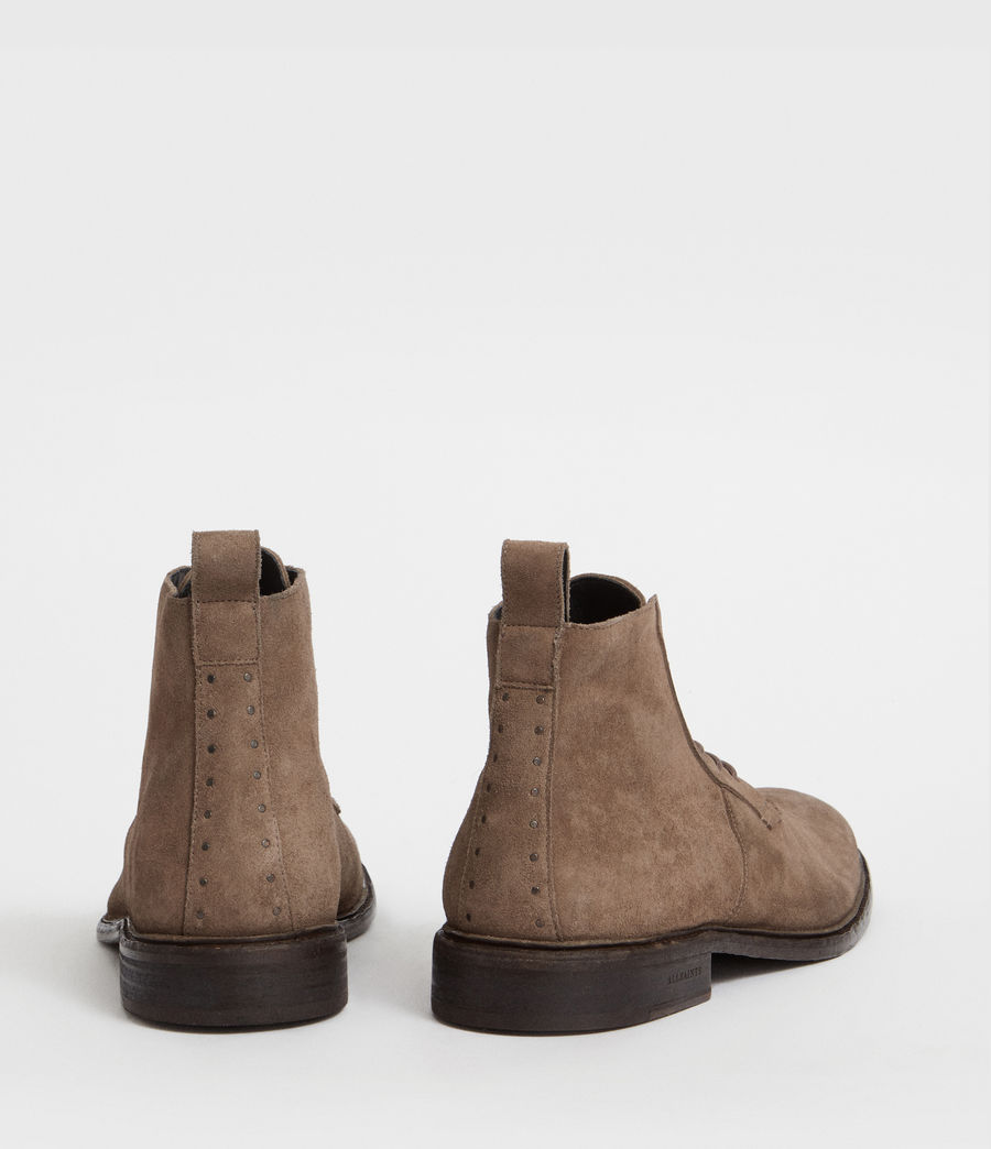 Hommes Bottes Trent (taupe_brown) - Image 5