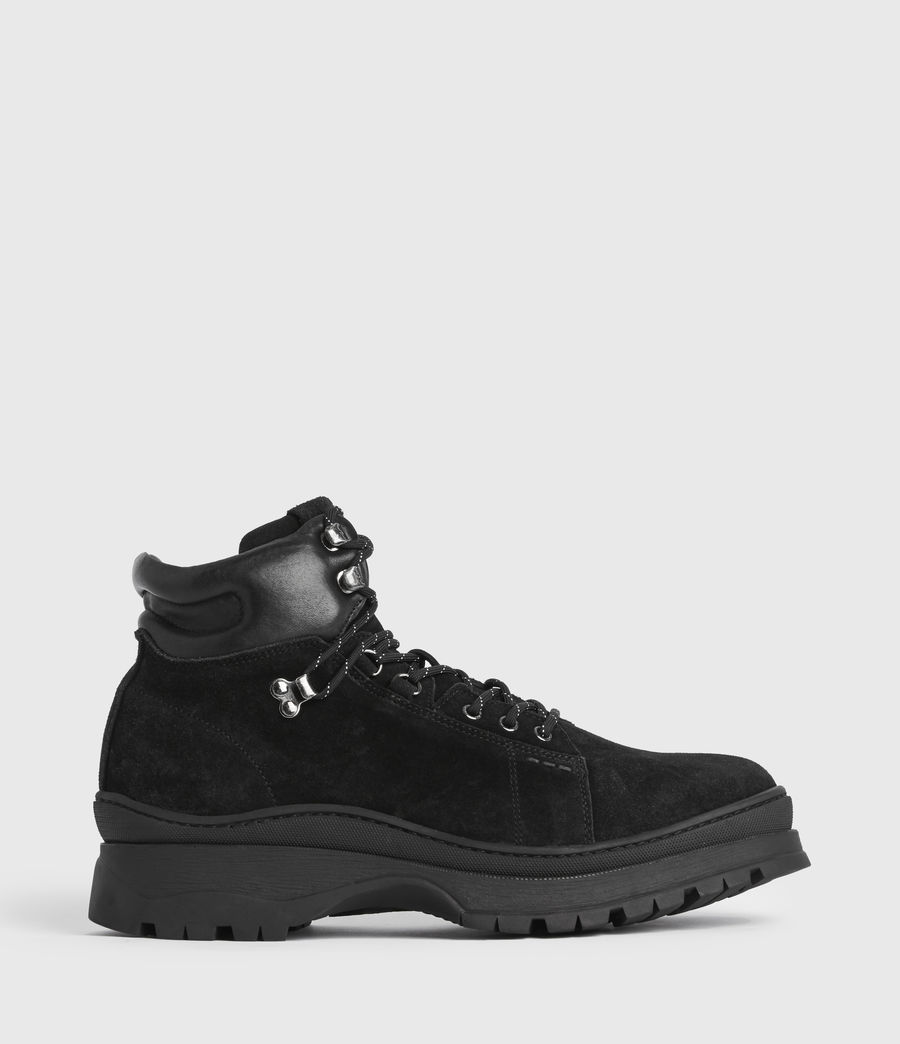 Mens Donte Suede Boots (black) - Image 1