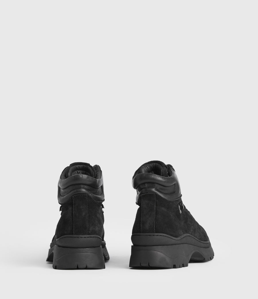 Mens Donte Suede Boots (black) - Image 6
