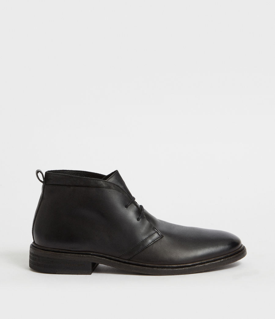 Hommes Bottines Birch (black) - Image 1