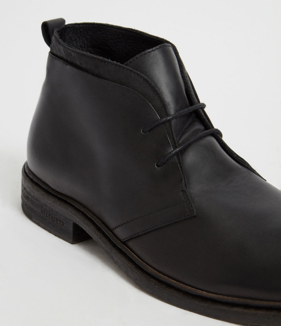 Hommes Bottines Birch (black) - Image 2