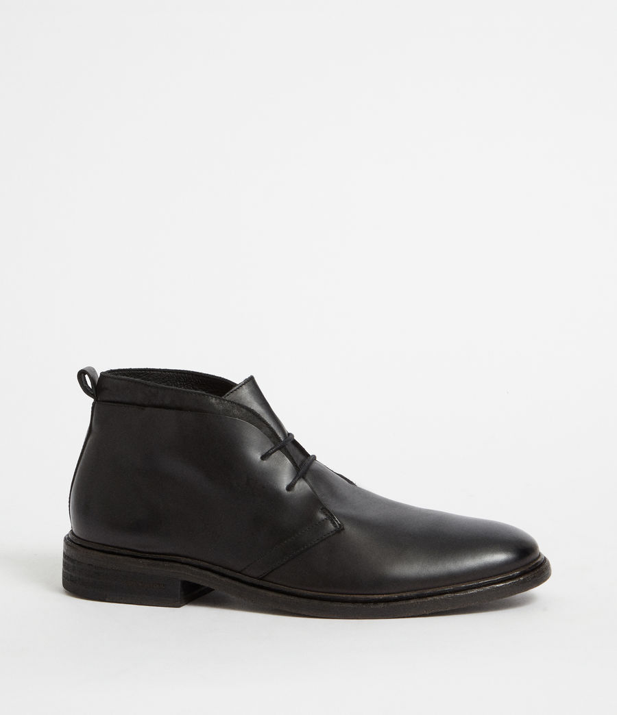 Hommes Bottines Birch (black) - Image 3