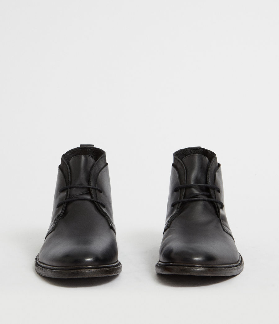 Hommes Bottines Birch (black) - Image 4