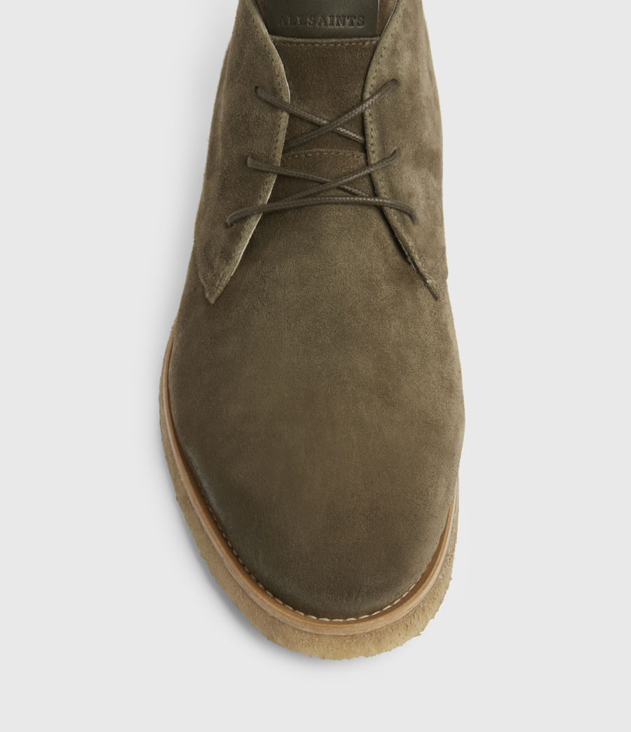 Hommes Luke Suede Boots (dark_khaki) - Image 2