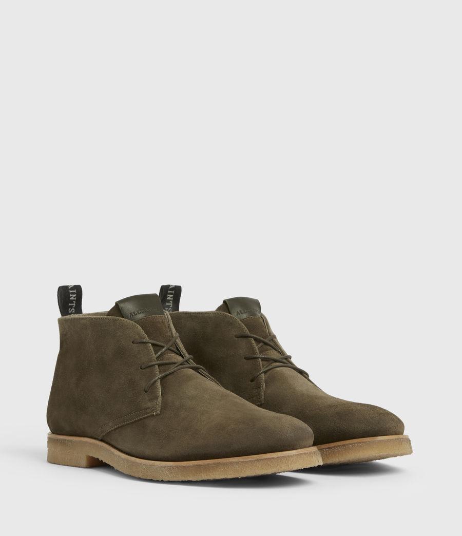Hommes Luke Suede Boots (dark_khaki) - Image 3