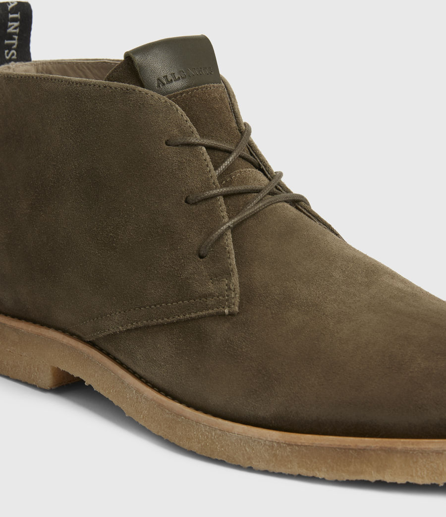 Hommes Luke Suede Boots (dark_khaki) - Image 4