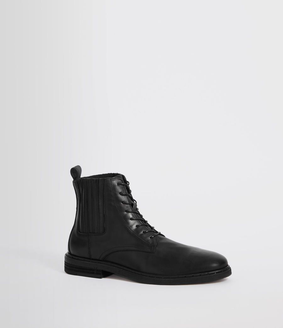 Hommes Boots Perch (black) - Image 3