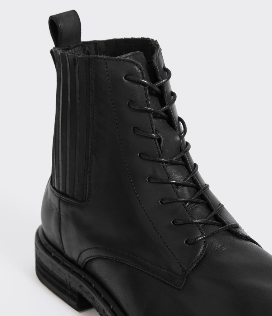 Hommes Boots Perch (black) - Image 4