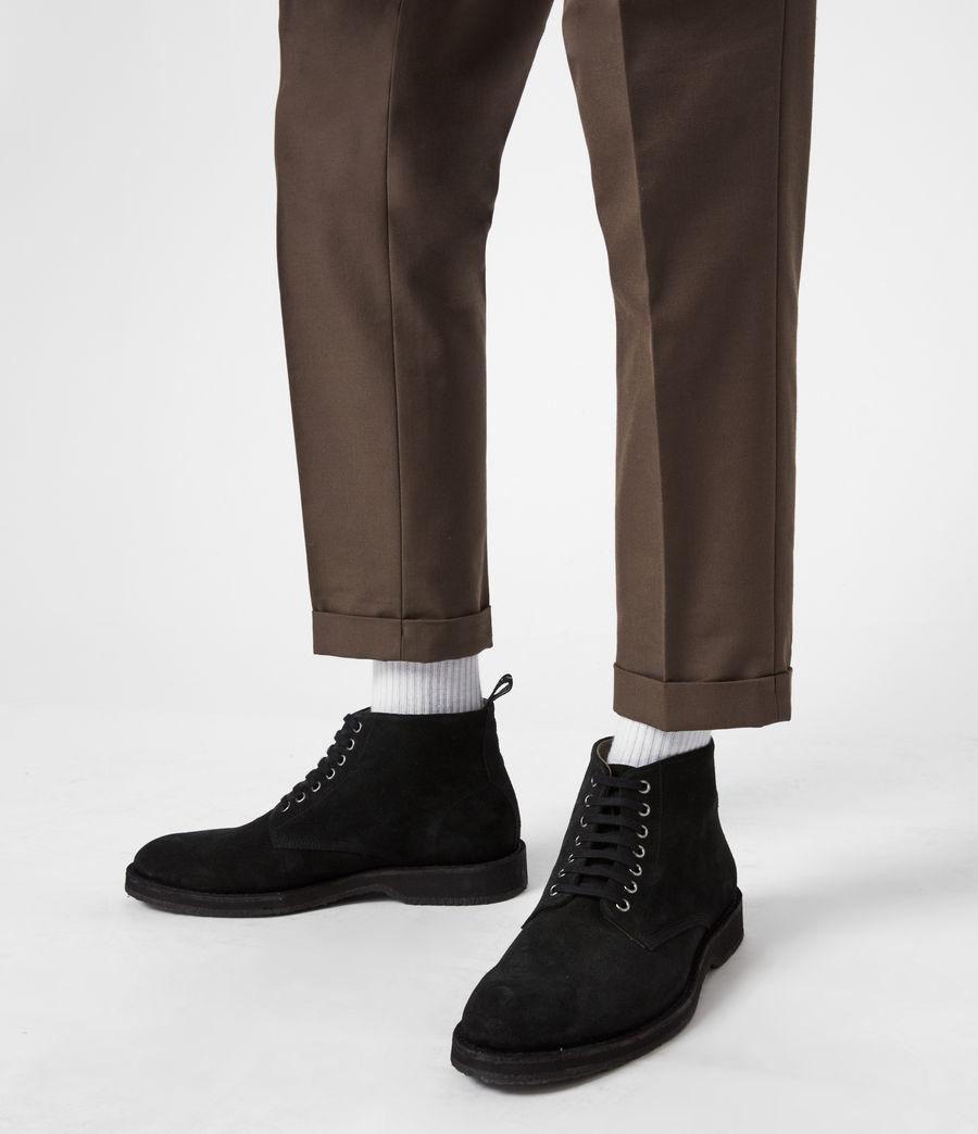 Men's Mathias Suede Boots (black) - Image 2