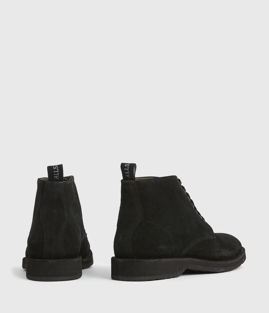 Men's Mathias Suede Boots (black) - Image 6