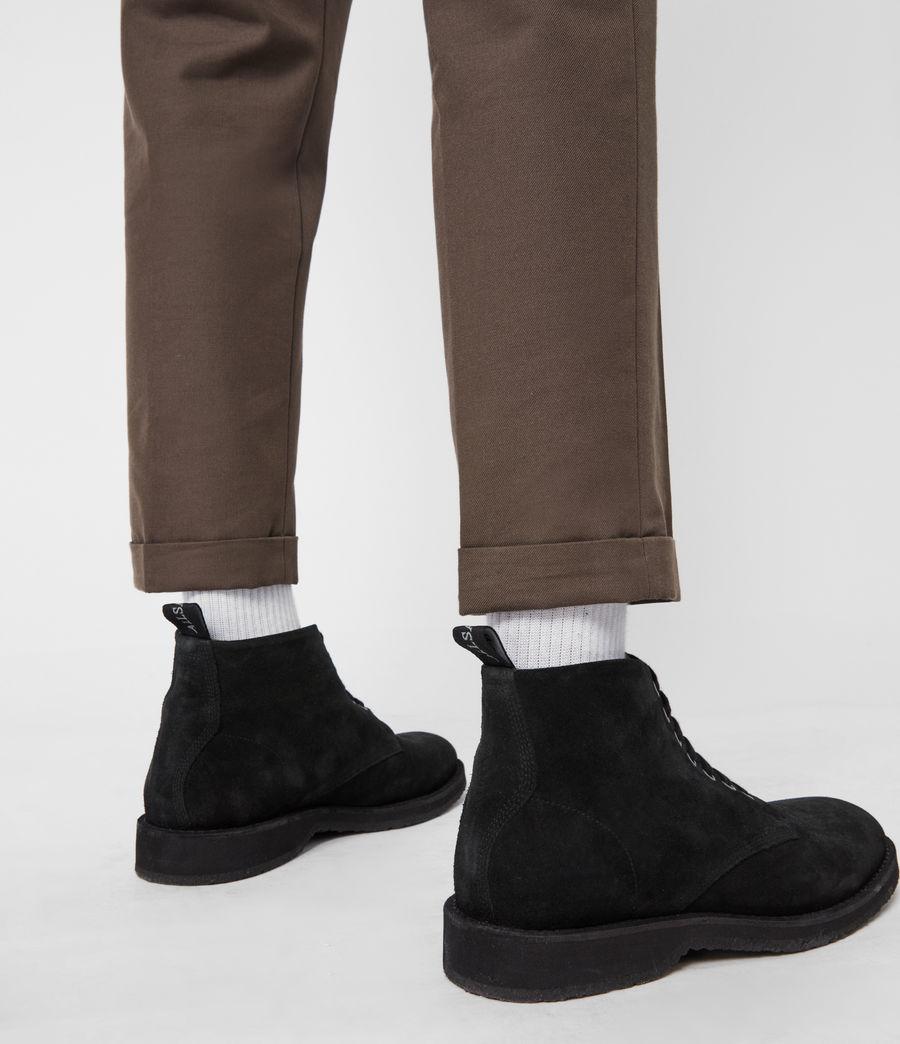 Men's Mathias Suede Boots (black) - Image 7