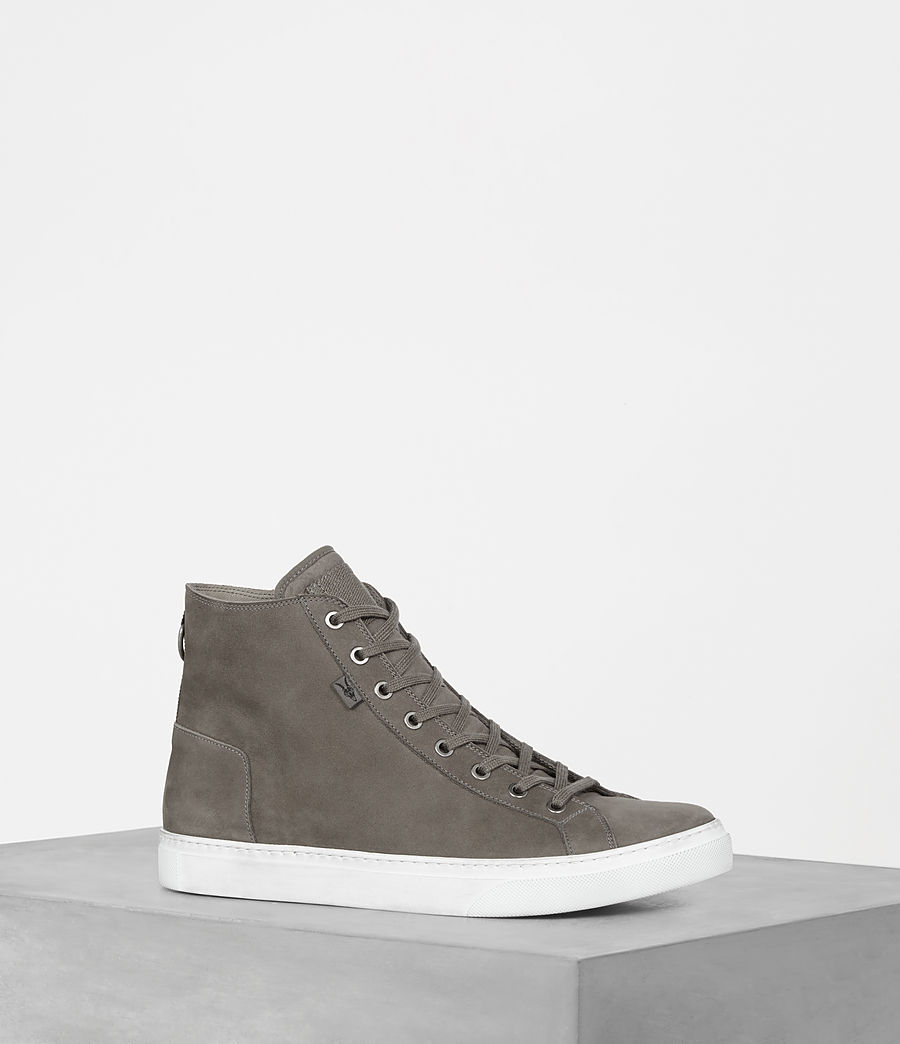 Mens Iyo Hi-Top Sneaker (charcoal_grey) - Image 1