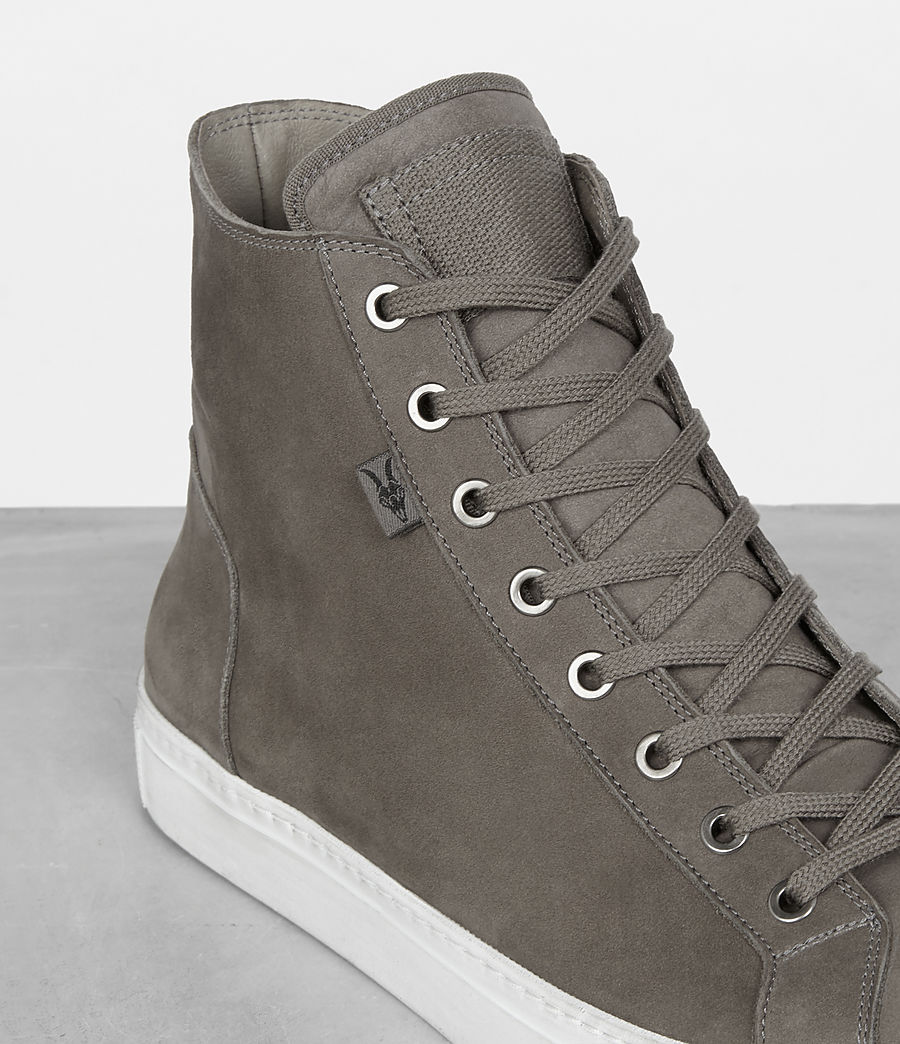 Mens Iyo Hi-Top Sneaker (charcoal_grey) - Image 2