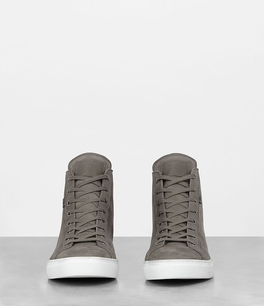 Mens Iyo Hi-Top Sneaker (charcoal_grey) - Image 3