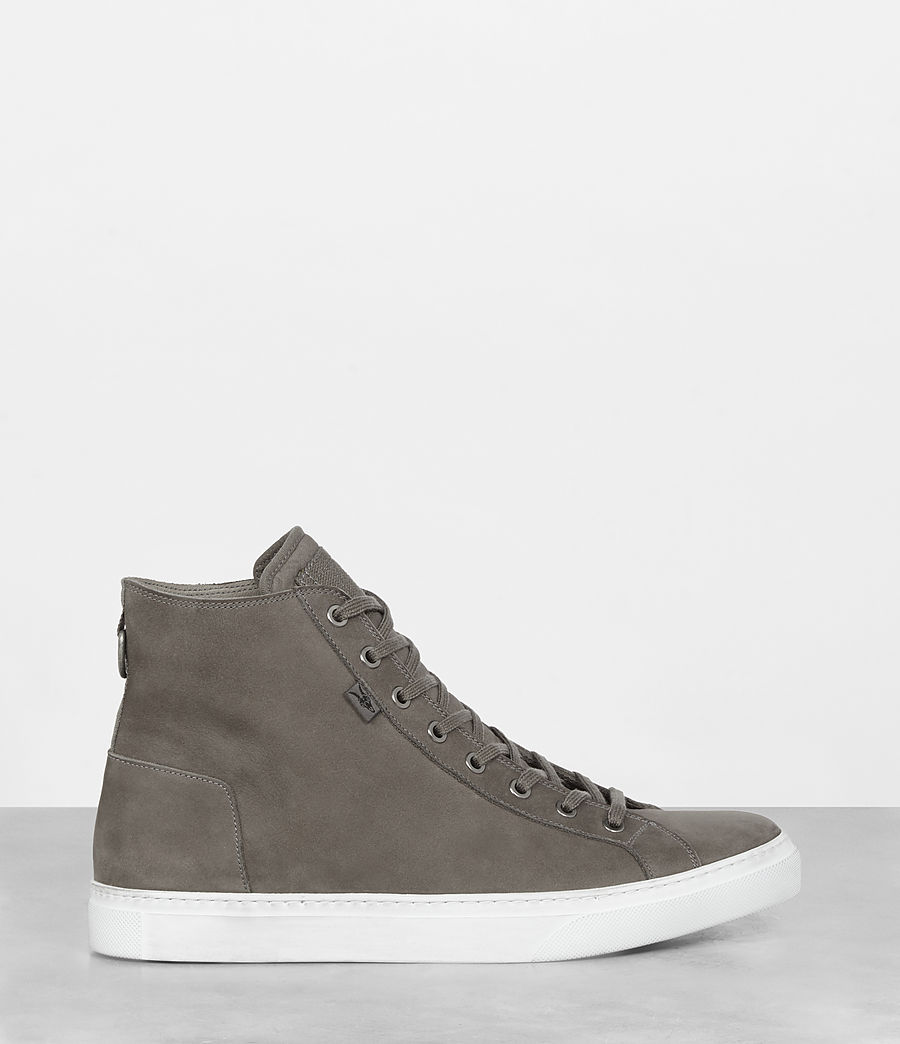 Mens Iyo Hi-Top Sneaker (charcoal_grey) - Image 4