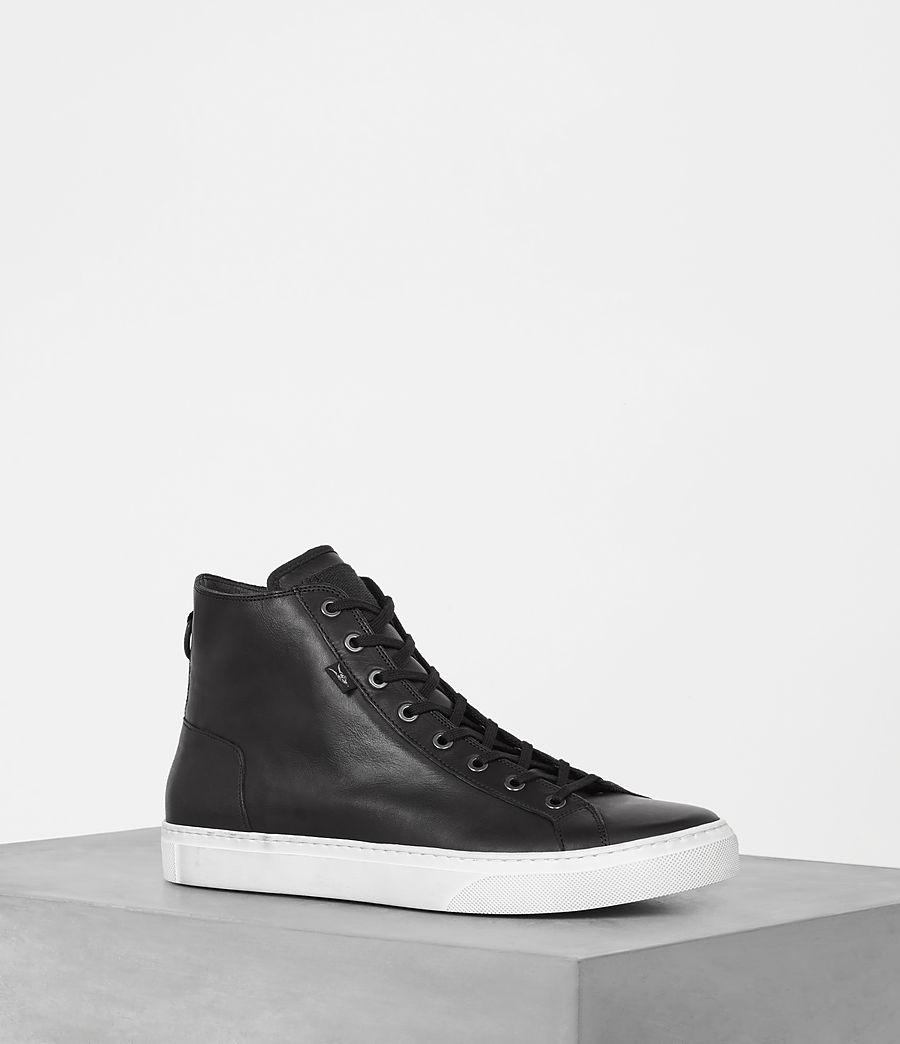 Mens Iyo Hi-Top Sneaker (black) - Image 1