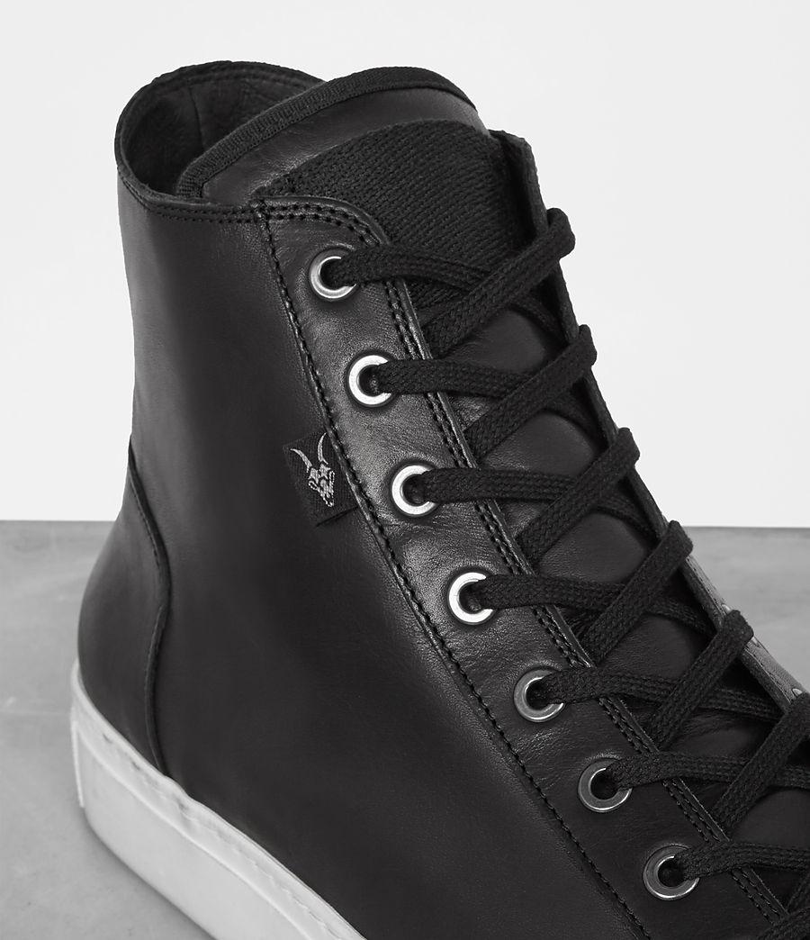 Mens Iyo Hi-Top Sneaker (black) - Image 2