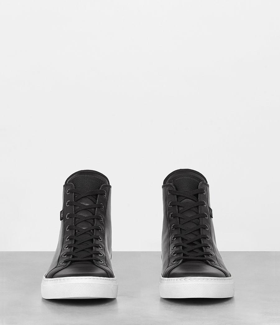 Mens Iyo Hi-Top Sneaker (black) - Image 3