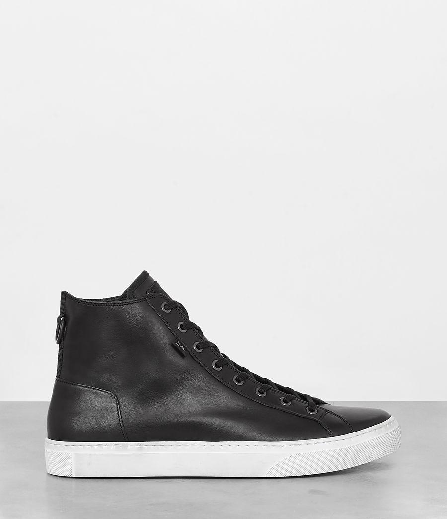 Mens Iyo Hi-Top Sneaker (black) - Image 4